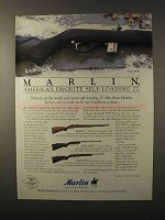 1995 Marlin Rifle Ad - Model 995SS, 60, 70PSS