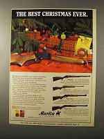 1995 Marlin Rifle Ad - Model 60, 15YN, 336CS and 39AS
