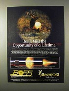 1995 Browning Ballistic Optimizing Shooting System Ad
