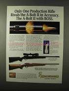1995 Browning A-Bolt II Composite Stalker Rifle Ad