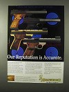 1995 Browning Buck Mark Pistol Ad - Our Reputation