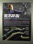 1995 Browning Micro-Midas Bow Ad - Still Fit Next Year