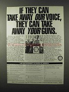 1995 Law Enforcement Alliance of America Ad - Our Voice