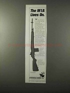 1995 Springfield Armory M1A Rifle Ad - Lives On