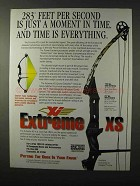 1995 Xi Extreme XS Bow Ad - Time is Everything