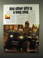 1995 Honda Foreman 400 ATV Ad - Any Other A Long Shot