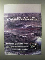 1995 Sears DieHard Marine Battery Ad - No Land in Sight