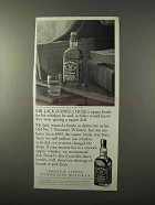 1995 Jack Daniel's Whiskey Ad - Chose Square Bottle