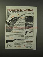 1995 Thompson / Center Arms Fire Hawk Rifle Ad