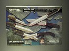 1995 Cold Steel Knives Ad - Culloden, Tai Pan, Voyager