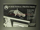1995 North American Arms .22 Short Ad - Purse/Sonal