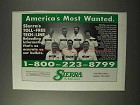 1995 Sierra Bullets Ad - America's Most Wanted