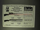 1995 Weatherby Ad - Lazermark Rifle, Orion O/U Shotgun