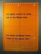 1964 Moore Business Forms Ad - Better Control