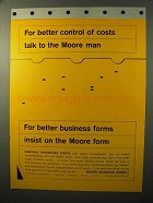 1964 Moore Business Forms Ad - Better Control of Costs