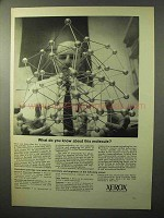 1964 Xerox Corporation Ad - Know This Molecule?