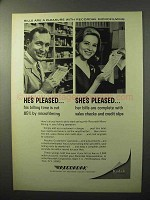 1964 Recordak Microfilming Ad - Bills Are a Pleasure