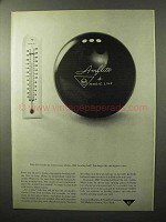 1964 AMF Amflite Bowling Ball Ad - The Temperature