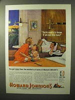 1964 Howard Johnson's Motor Lodges Ad - Live Here