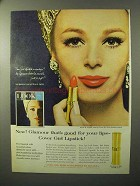 1964 Cover Girl Lipstick Ad - Glamour Good For Lips