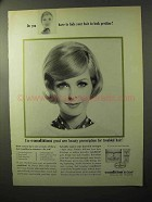 1964 Clairol Condition Ad - Do You Hide Your Hair?
