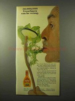 1964 Wish-Bone Deluxe French Dressing Ad - Frenchmen