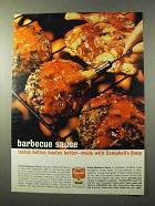 1964 Campbell's Soup Ad - Barbecue Sauce