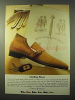 1964 Johnston & Murphy Player Shoe Ad - Strolling