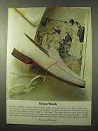 1964 Johnston & Murphy Westbury Shoe Ad - Return Match
