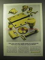 1964 Anaconda Brass Ad - Some Kinds of Hardware