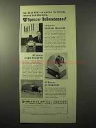 1964 American Optical Spencer Overhead Projector Ad