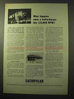 1964 Caterpillar High-Speed Mercury Slip Ring Ad