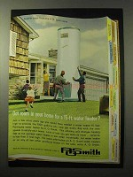 1964 A.O. Smith Water Heater Ad - Got Room?