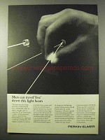 1964 Perkin-Elmer CW Gas Laser Ad - Mars Can Travel