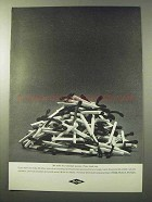 1964 Dow Chemicals Ad - Fire-Retardant Epoxies