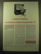 1964 Fairchild Series 500 Transistor Tester Ad