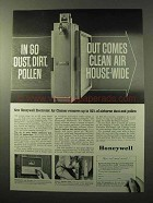 1964 Honeywell Electronic Air Cleaner Ad - Dust, Dirt