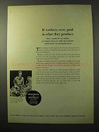 1964 Warner & Swasey Turret Lathes Ad - Workers Paid