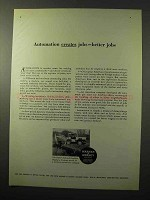 1964 Warner & Swasey Hopto Hydraulic Backhoe Ad - Jobs