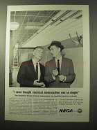1964 National Electrical Contractors Association Ad