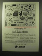 1964 Chrysler Corporation Ad - Every Part Protected