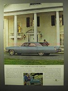 1964 Cadillac Car Ad - First One Up Gets the Cadillac