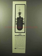 1964 Leitz Micromanipulator Ad - With the Light Touch