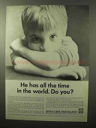 1964 Aetna Life Insurance Ad - All Time in the World