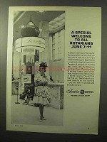 1964 Scotia Bank Ad - Special Welcome to Rotarians