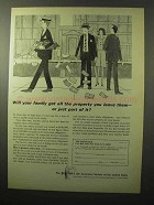 1964 The Equitable Life Assurance Ad - All the Property