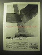 1964 Pan Am Fan Jet Falcon Ad - Your Sales Manager
