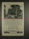 1927 LaSalle Car Ad - The Pre-Proved Car - NICE!!