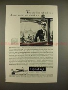 1931 Chris Craft Family Cruisers Boat Ad - World Ahead!