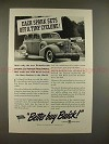 1937 Buick Car Ad - Each Spark Sets Off a Tiny Cyclone!